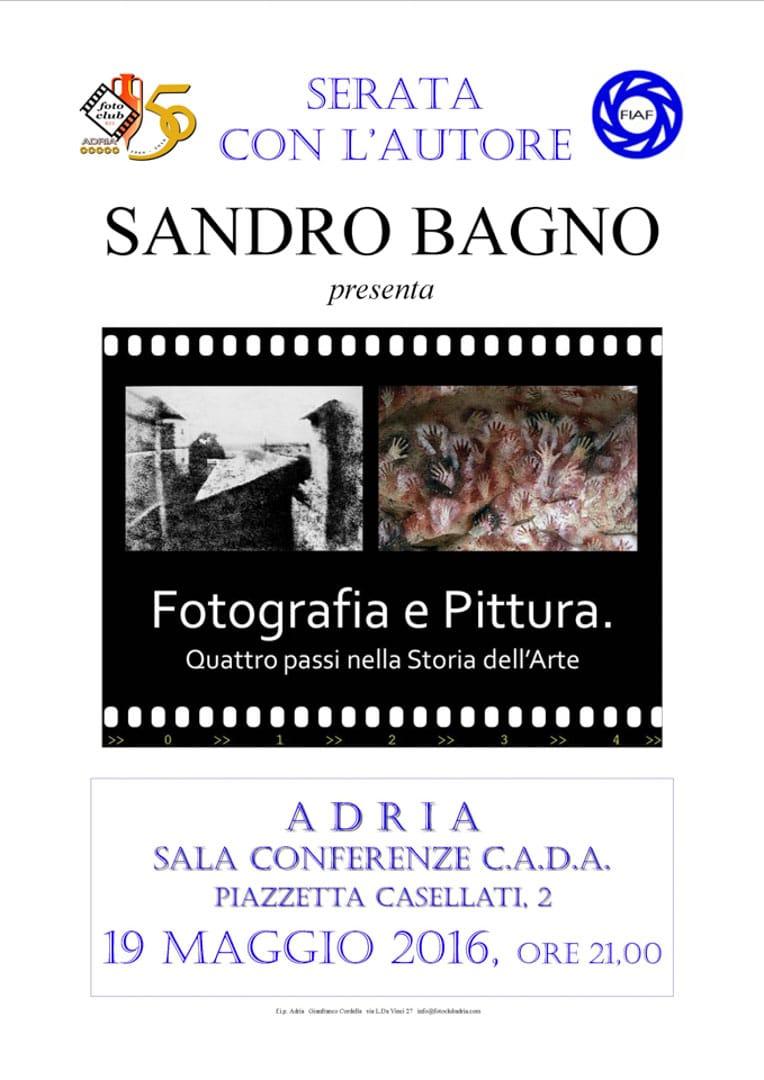 Serata autore: Fotografia e Pittura