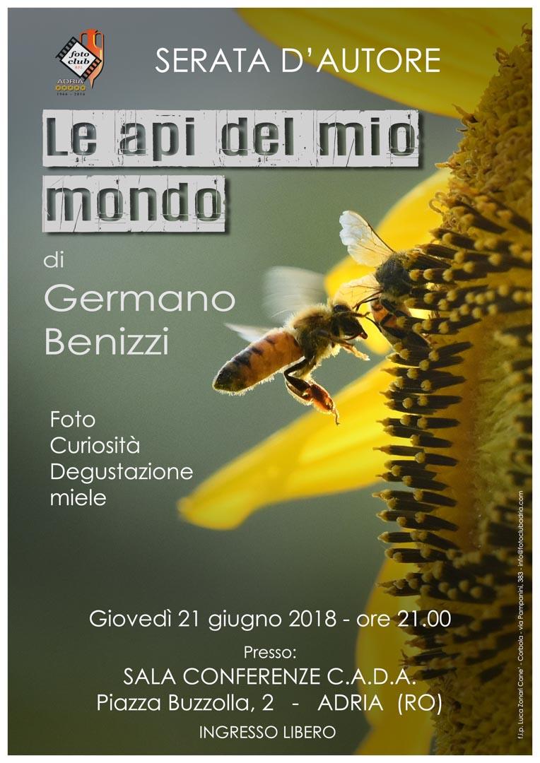 Serata autore: Germano Benizzi