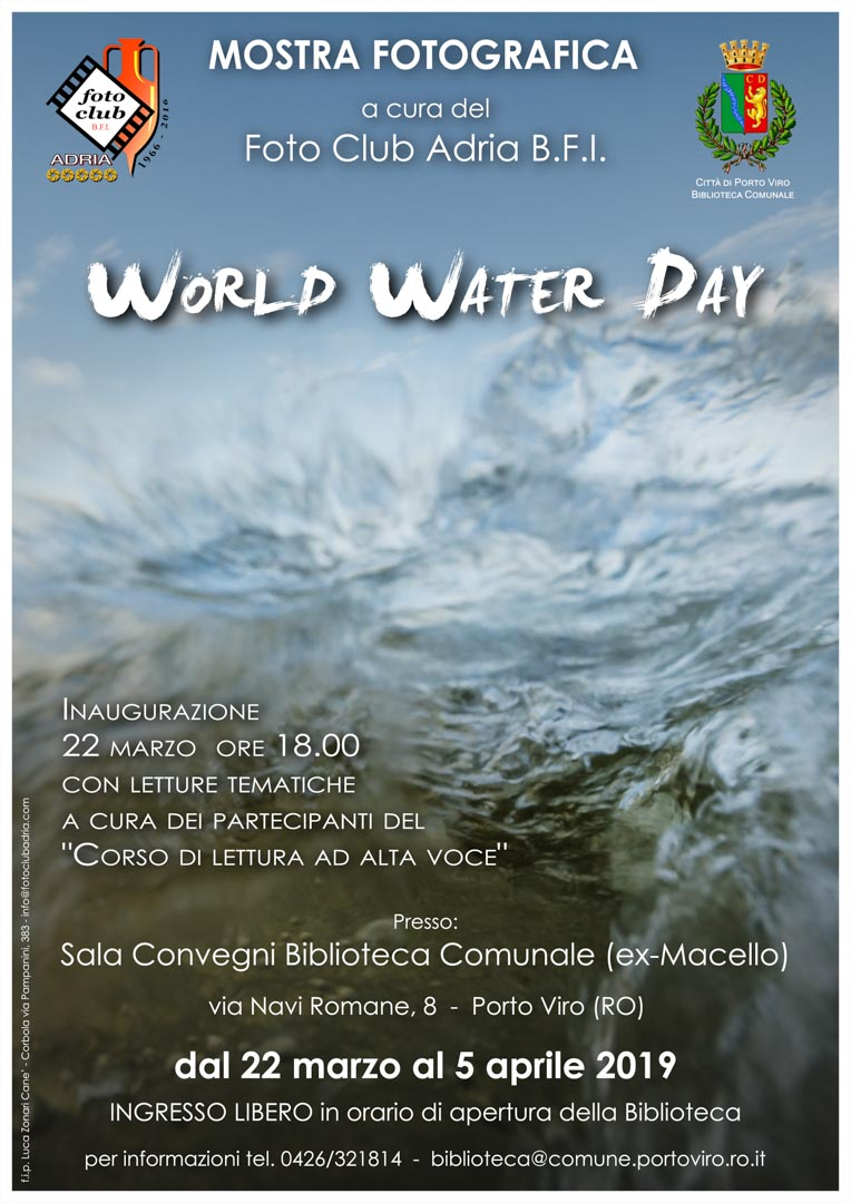 2019-03-22 World Water Day