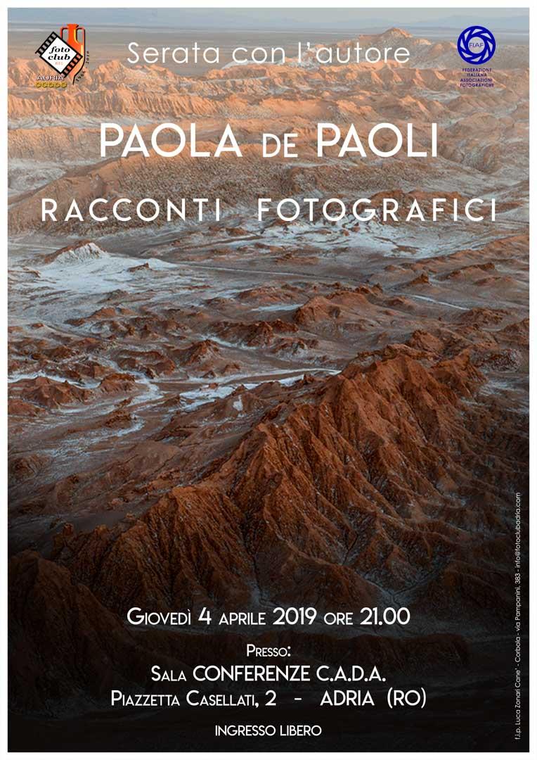 2019-04-04 Paola De Paoli