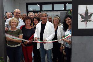 Inaugurazione personale di Luigi Fazzi