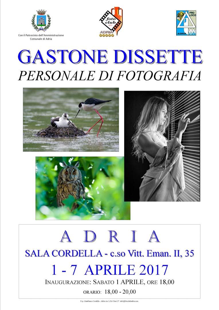 Personale di Gastone Dissette