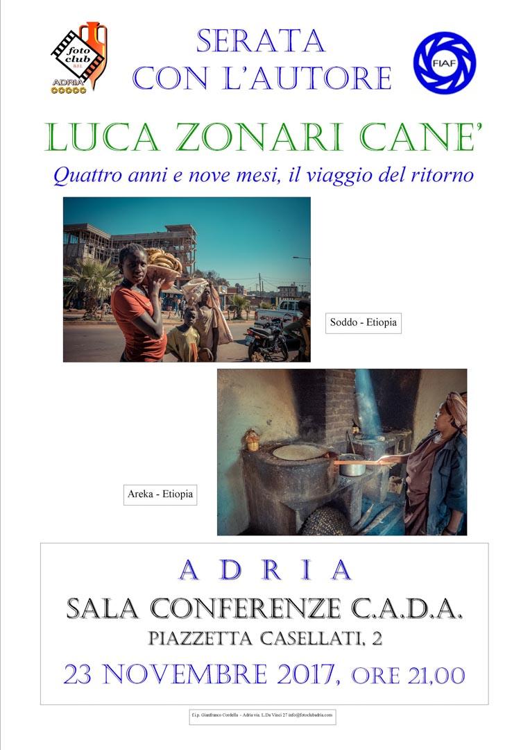 Serata autore: Luca Zonari Cane'