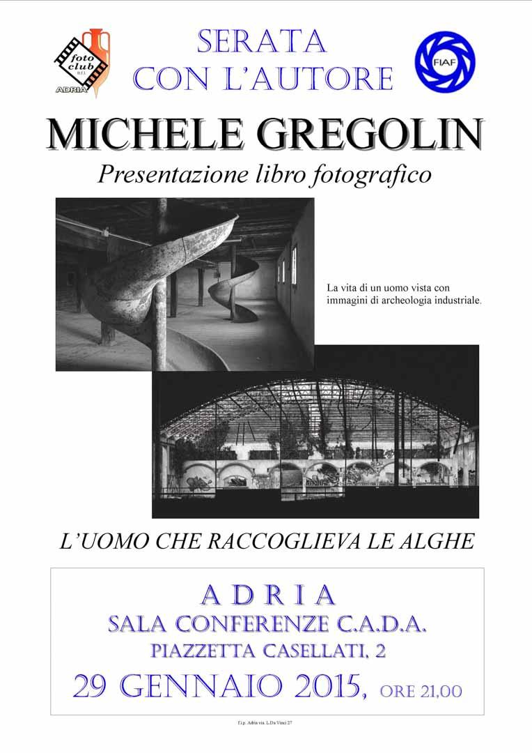 Serata autore: Michele Grigolin
