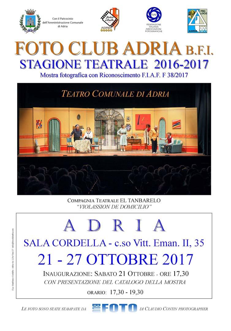 Mostra fotografica stagione teatrale 2016-2017