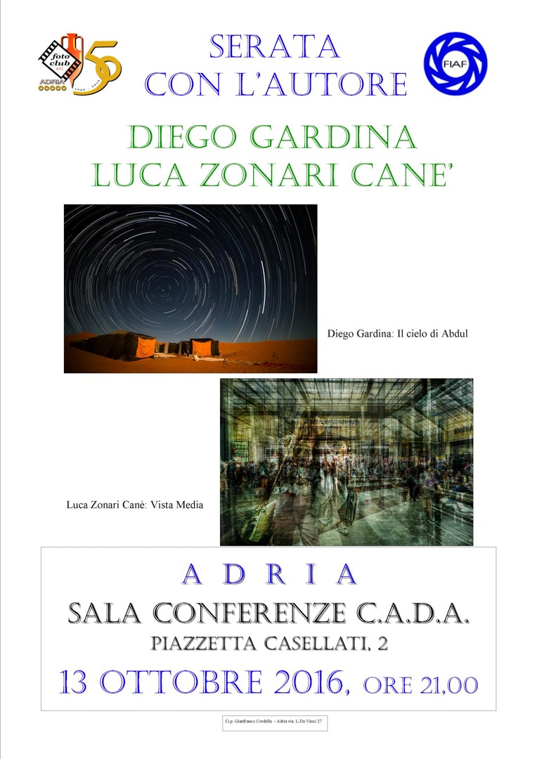 locandina Diego Gardina e Luca Zonari