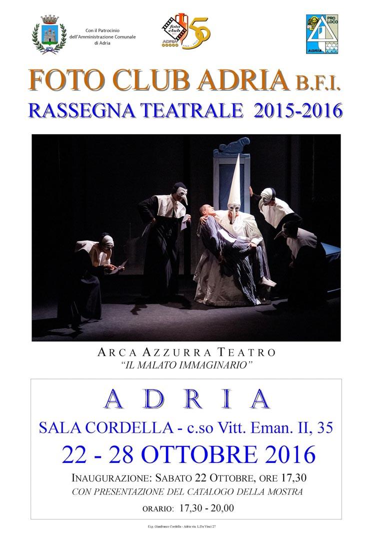 locandina Teatro 2015-16 Il malato immaginario
